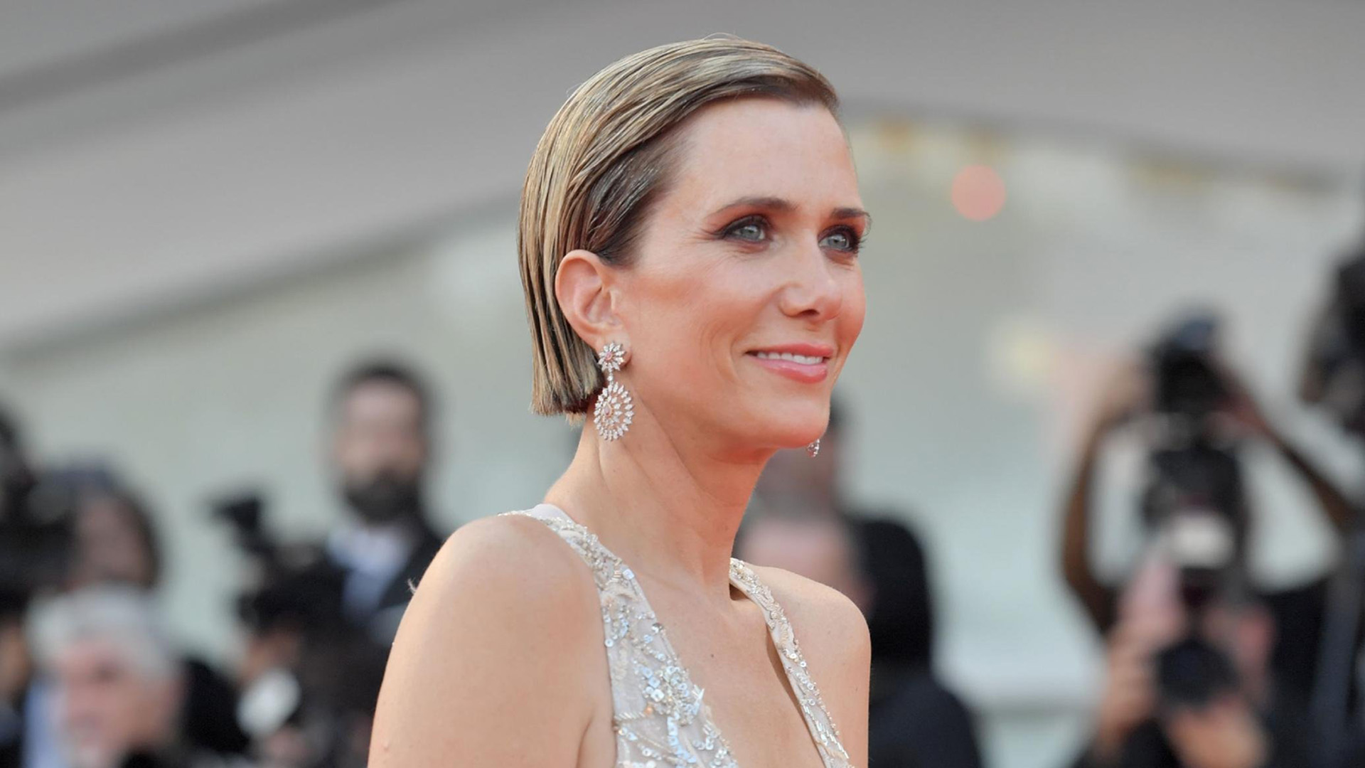 """A rep for Kristen Wiig confirmed to CNN that her new comedy with Annie Mumolo, """"Barb and Star Go to Vista Del Mar,"""" has pulled out of filming in the state in light of its """"heartbeat bill."""" (Credit: Tiziana Fabi/AFP/Getty Images)"""