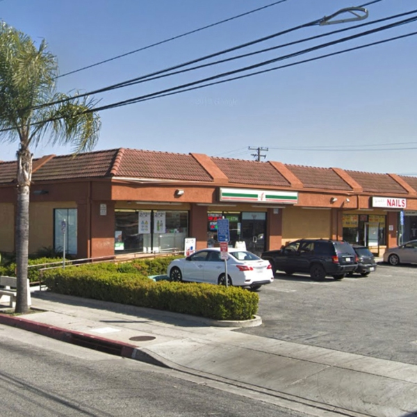 A 7-Eleven store at 10454 Artesia Blvd. in Bellflower as pictured in a Google Street View image in March of 2019.