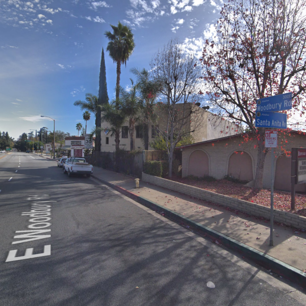 The 2100 Block of Santa Anita is seen in a Google Maps image.