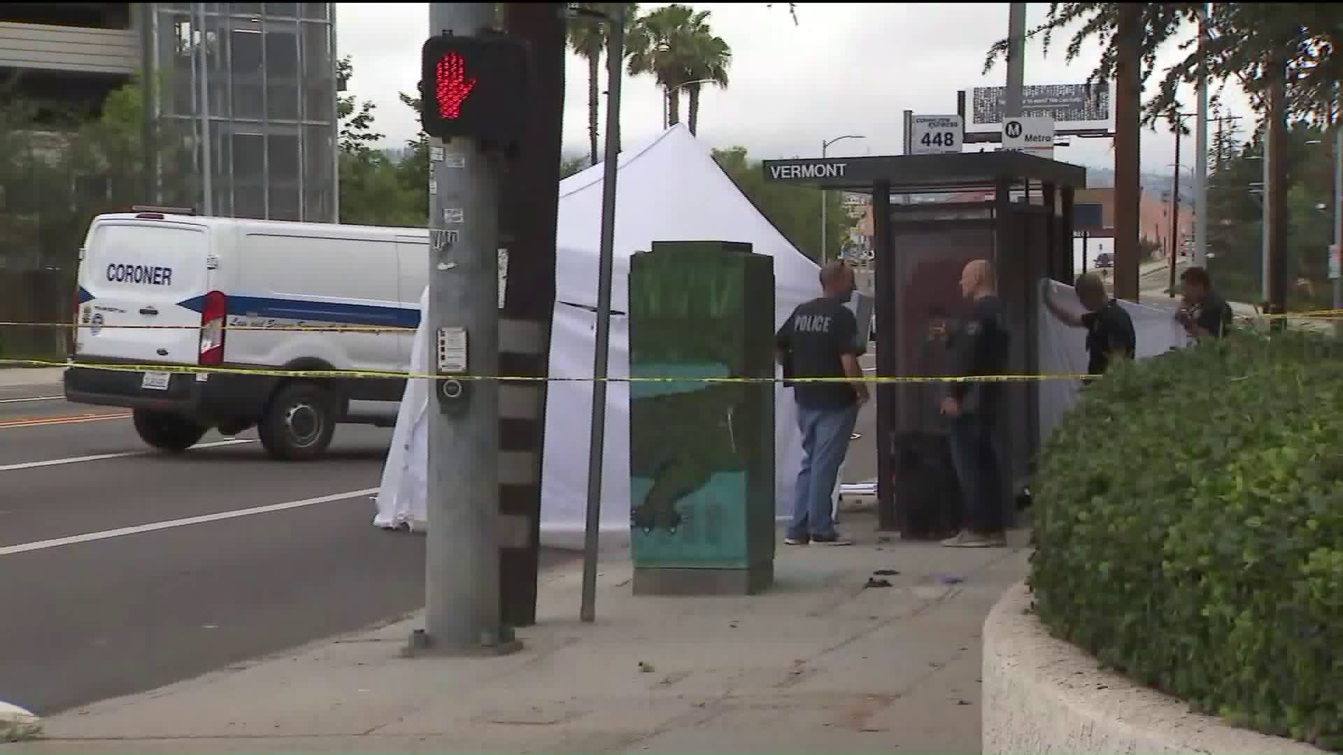 harbor city bus stop fatal shooting