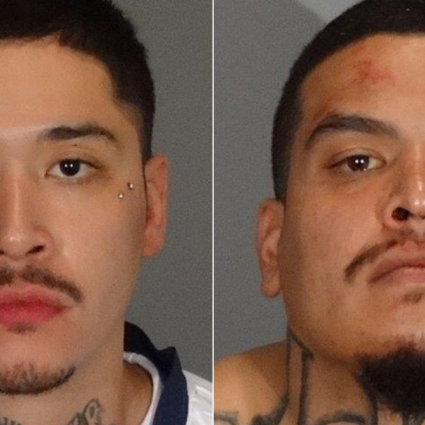 West Covina police released booking photos for two men the only identified as Cerda and Stewart on June 24, 2019.