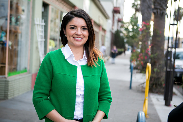 Lena Gonzalez poses for a photo that appears on the website for the city of Long Beach in June 2019.