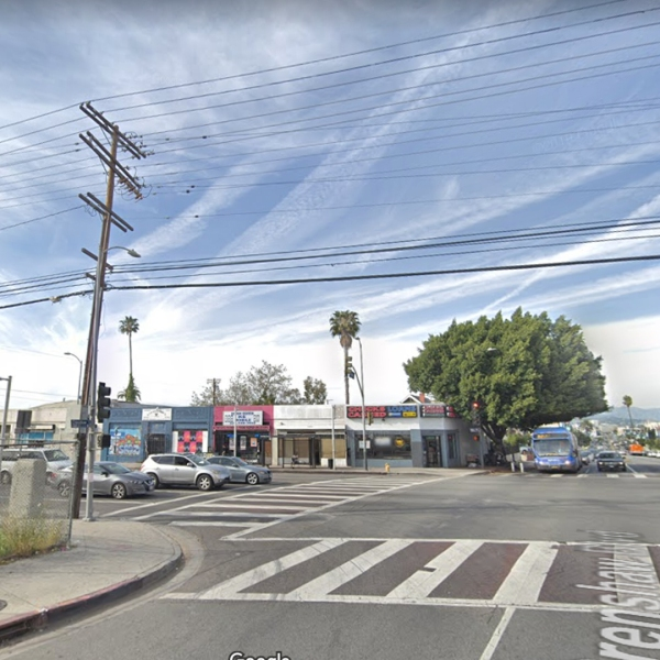 The area of Mid-City in Los Angeles where a woman was found dead June 13, 2019, is seen in this undated image from Google Maps.