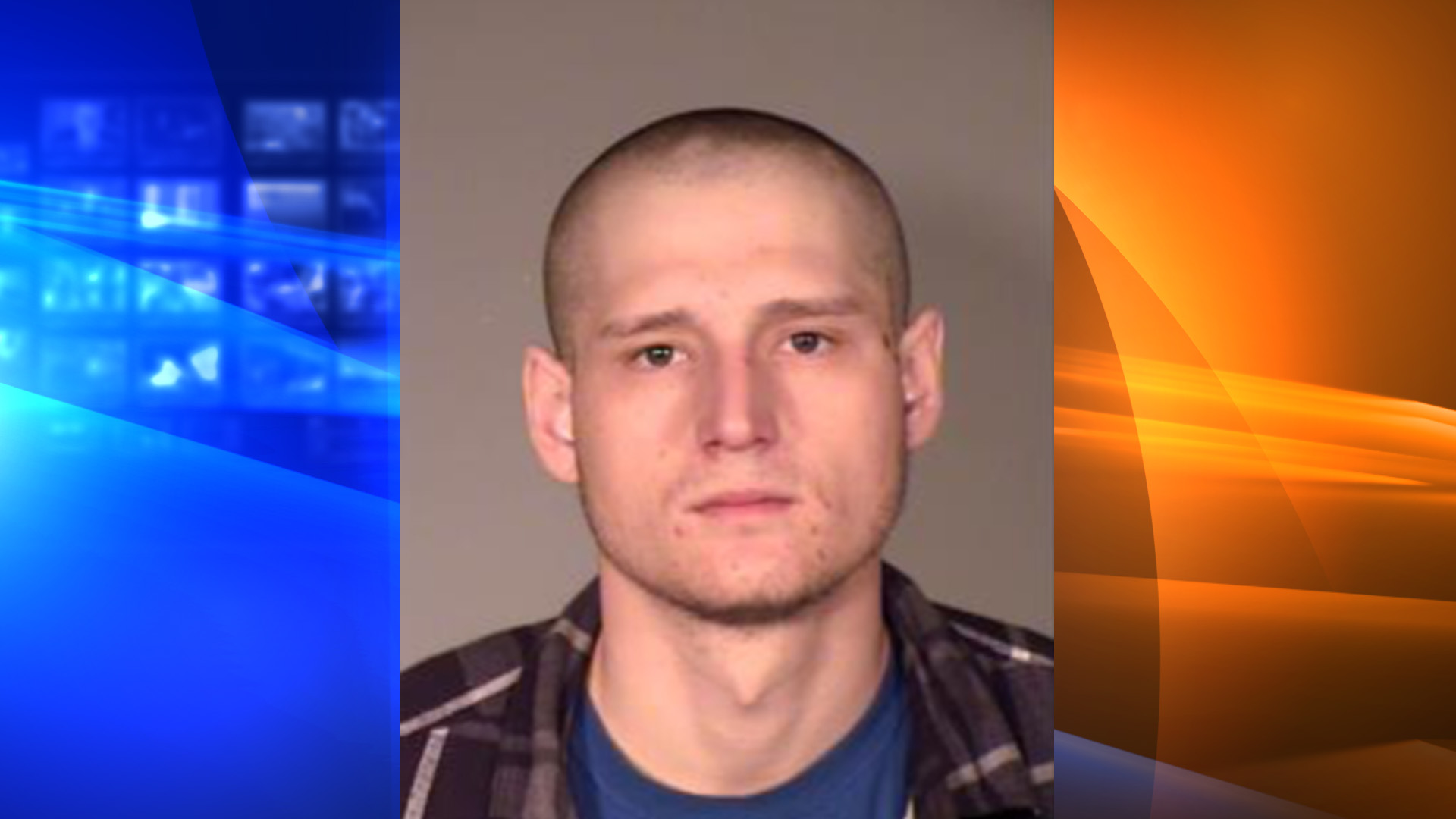Kobe Abbott is seen in this booking photo from the Simi Valley Police Department.