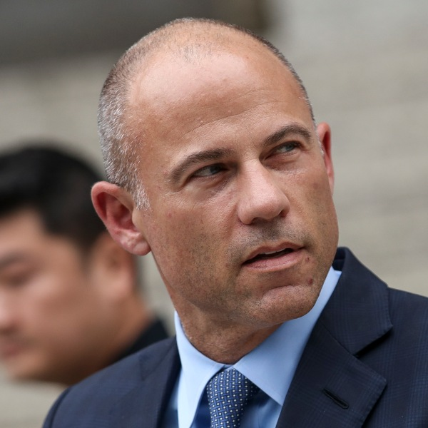 Attorney Michael Avenatti leaves federal court after being arraigned, May 28, 2019, in New York City. (Drew Angerer/Getty Images)