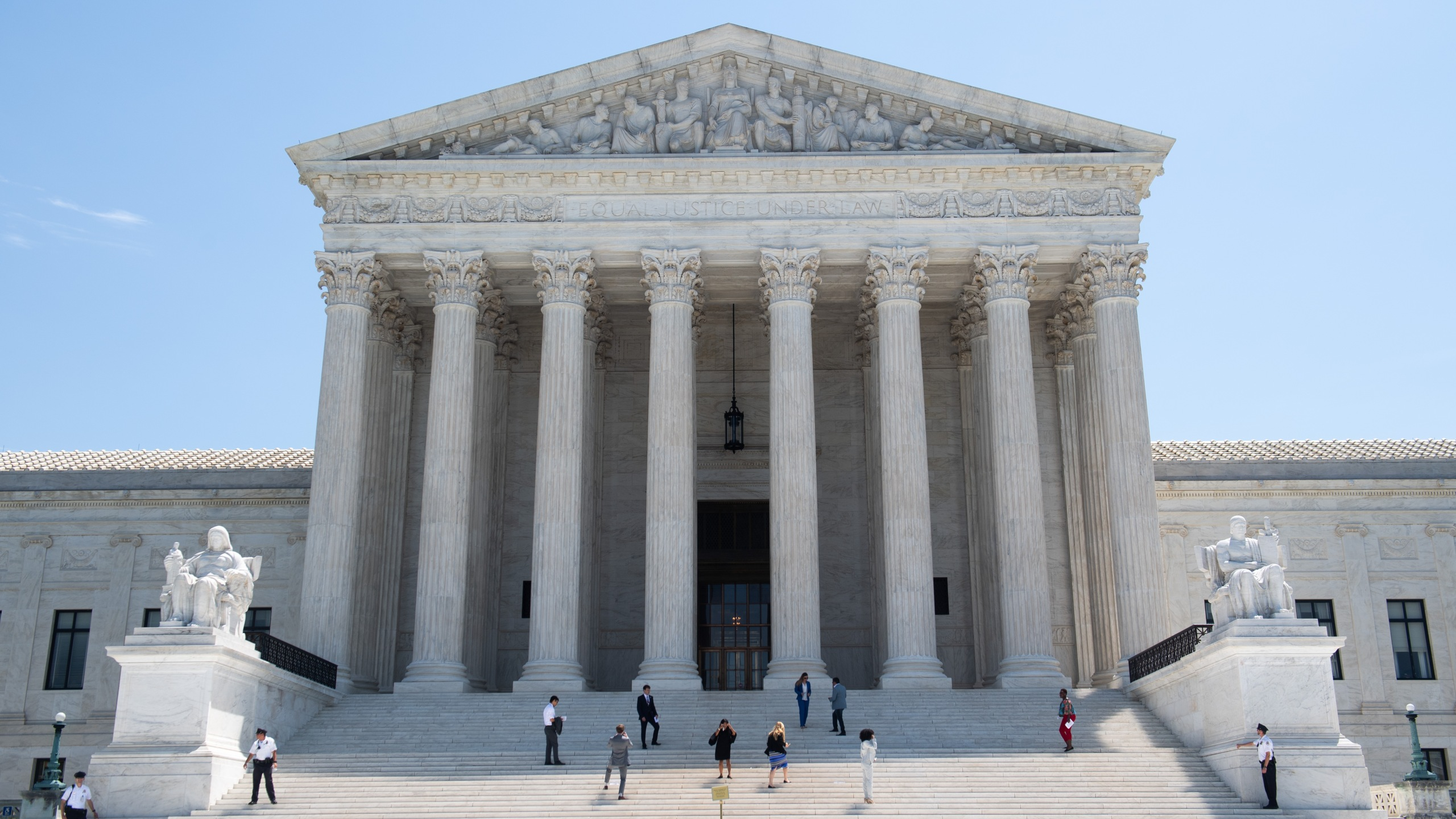 The Supreme Court is seen in Washington, D.C., on June 24, 2019. (Credit: Saul Loeb / AFP / Getty Images)
