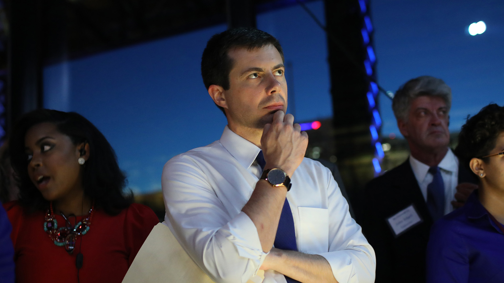 Democratic presidential candidate and Mayor of South Bend, Indiana, Pete Buttigieg attends the 2019 Blue Commonwealth Gala fundraiser June 15, 2019 in Richmond, Virginia.(Credit: Win McNamee/Getty Images)