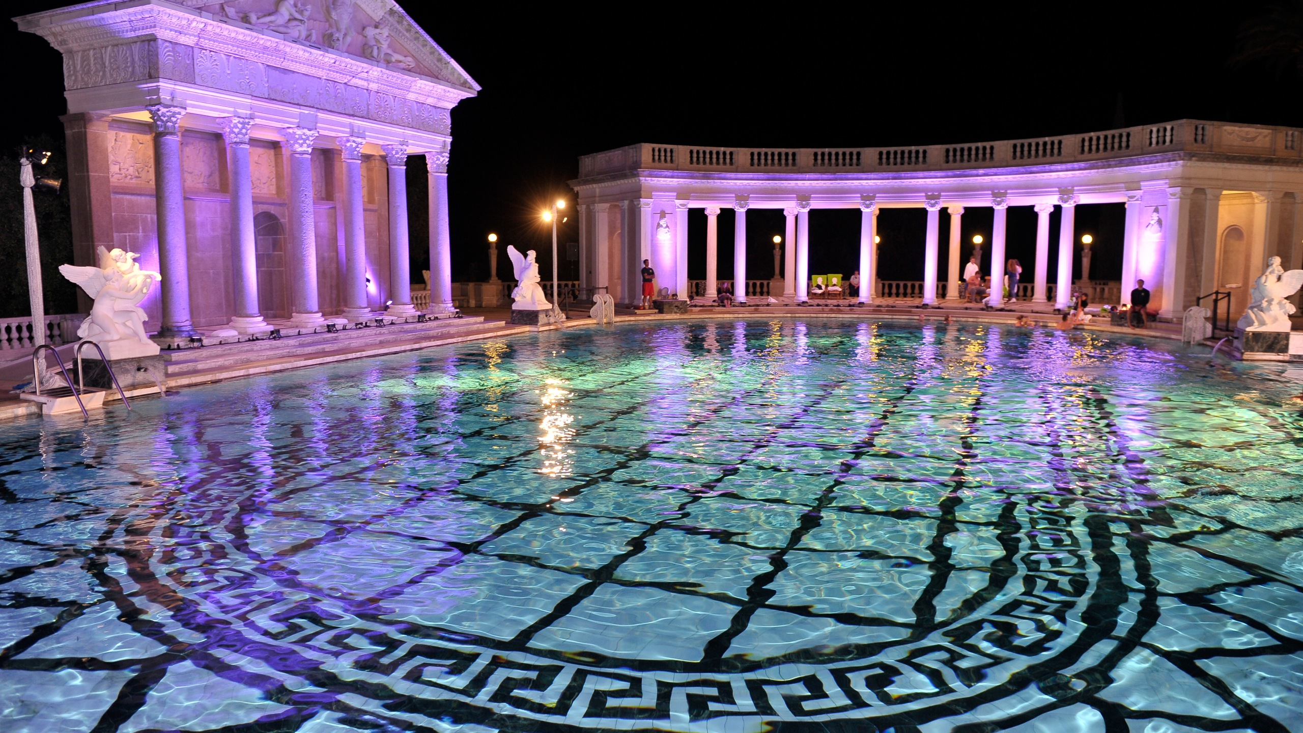 A general view of atmosphere at Best Buddies Challenge: Hearst Castle Neptune Pool Reception at Hearst Castle on Sept. 7, 2013, in San Simeon, California. (Credit: Steve Jennings/Getty Images)