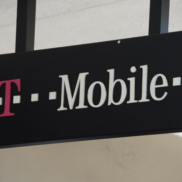 A T-Mobile store in Glendale is shown on Aug. 1, 2014. (Credit: Robyn Beck/AFP/Getty Images)