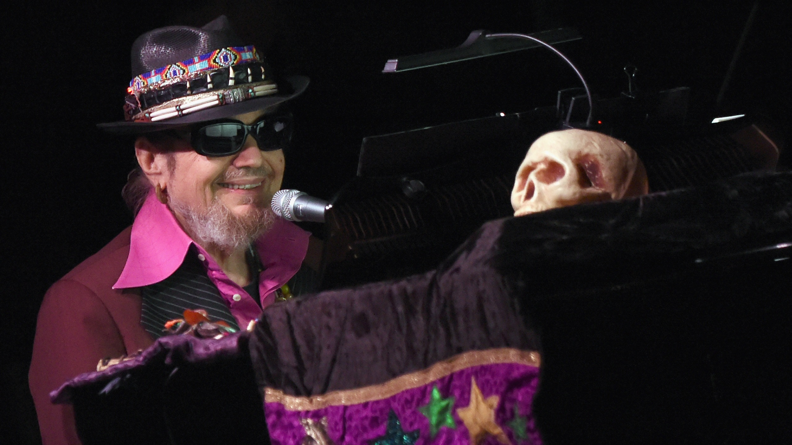 Dr. John performs on Mardi Gras at City Winery Nashville on Feb 9, 2016. (Credit: Rick Diamond / Getty Images)