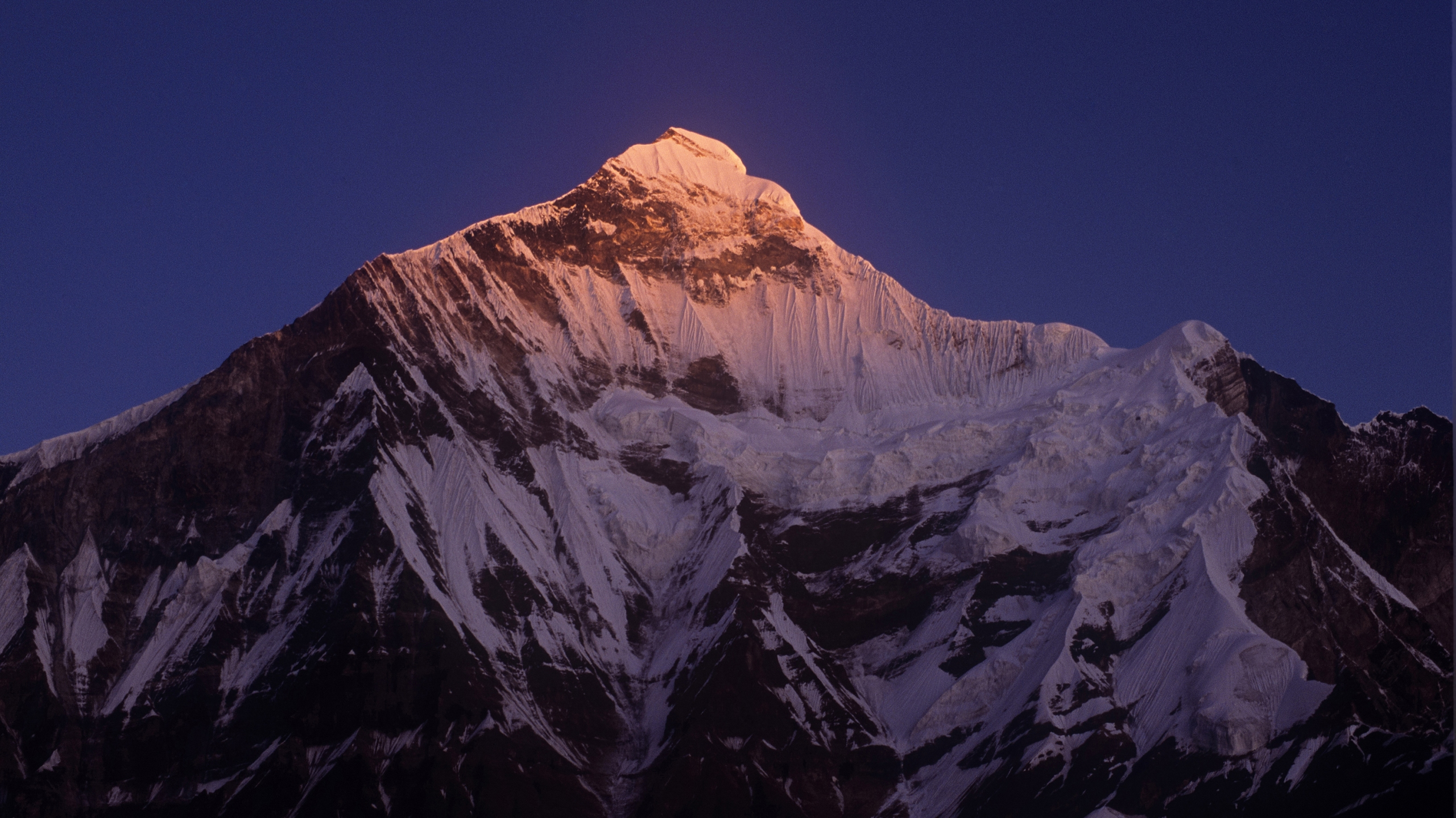 Nanda Devi East in the Himalayas in Uttarakhand, India is seen in a photo dated Dec. 14, 2006. (Credit: Getty Images)