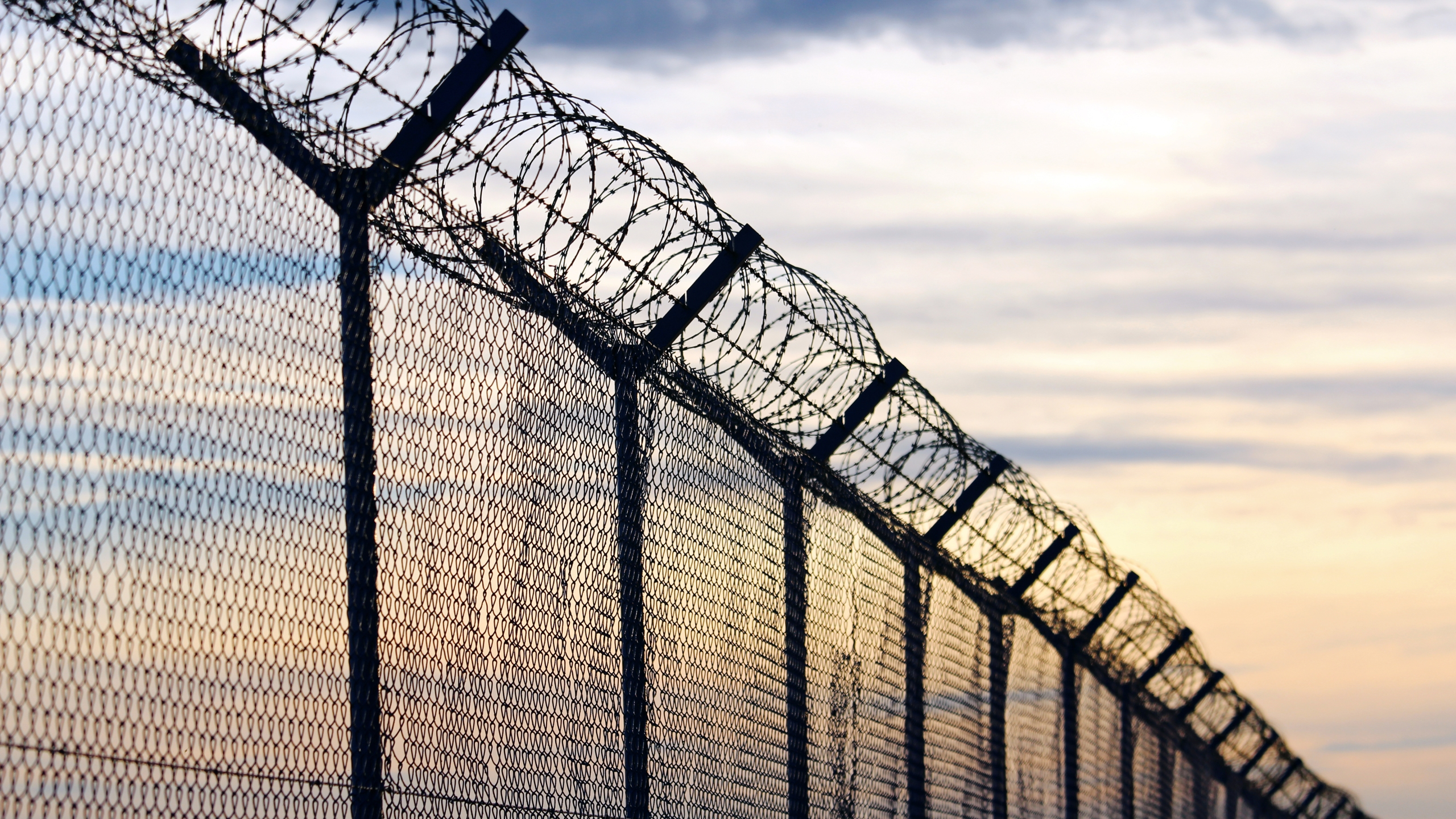 Barb wire is seen outside a prison in this file photo. (iStock / Getty Images Plus)