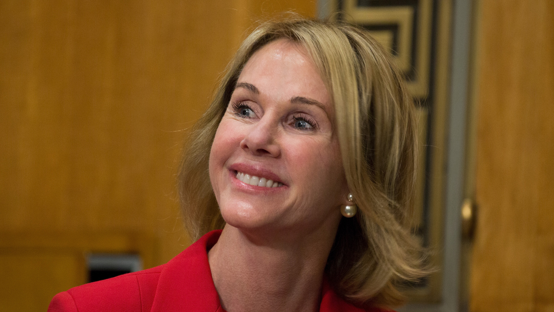 U.S. Ambassador Nominee Kelly Craft speaks on Capitol Hill on July 20, 2017 in Washington, DC. (Credit: Tasos Katopodis/Getty Images for Kelly Craft)