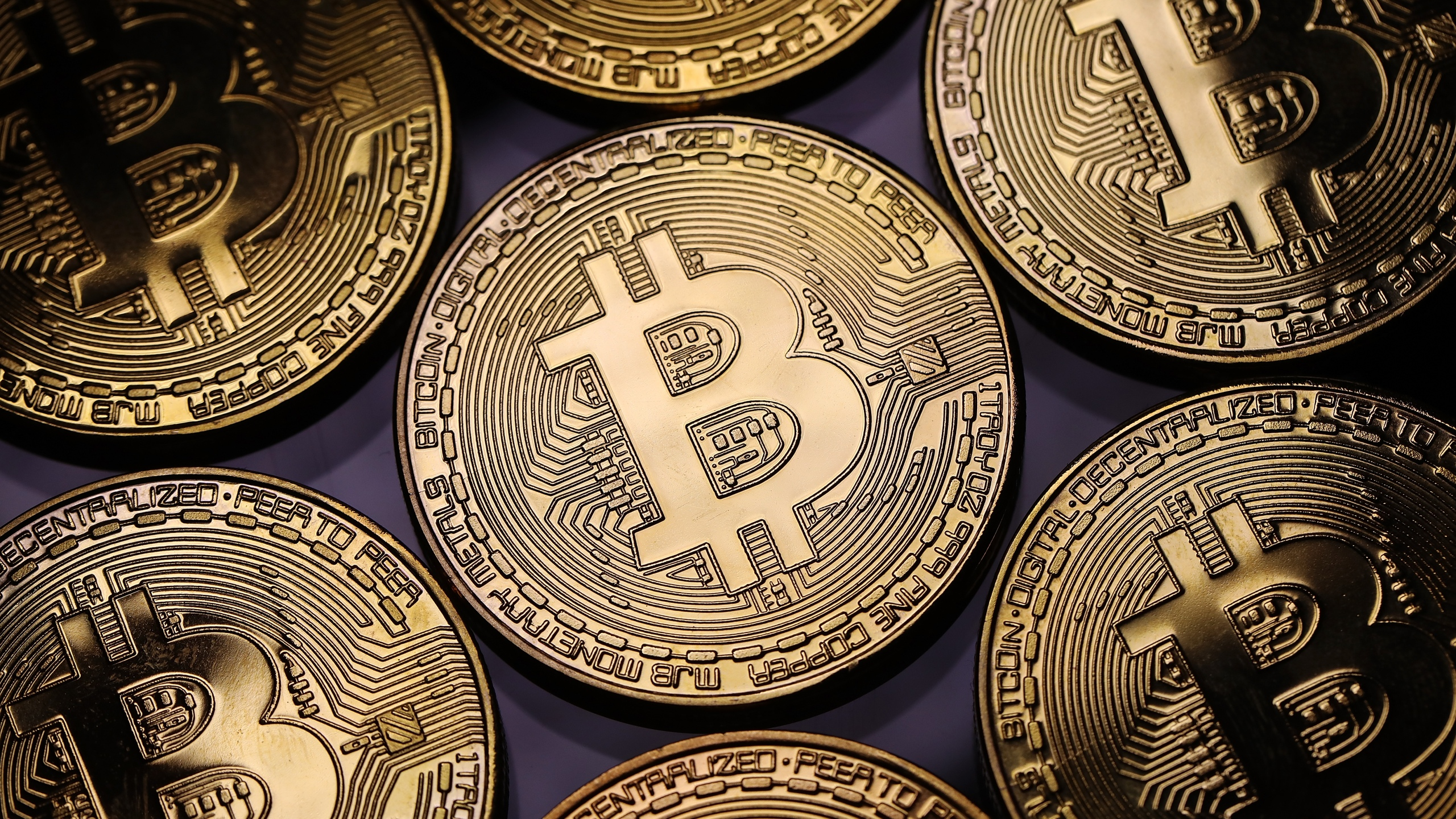 A visual representation of the digital Cryptocurrency, Bitcoin on December 07, 2017 in London, England. (Credit: Dan Kitwood/Getty Images)