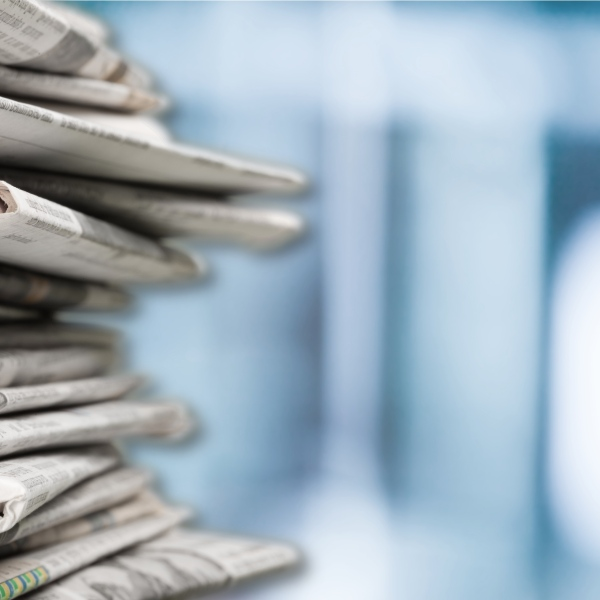 Pile of newspapers are seen in this undated image. (Credit: Getty Images)