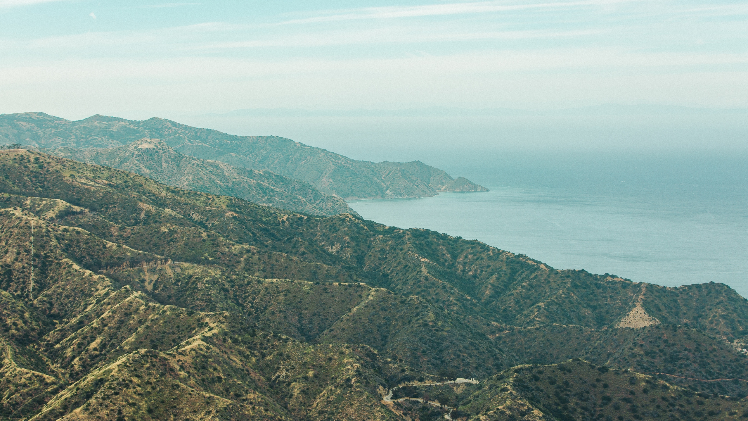 The Catalina Island coastline is seen in a file photo. (Credit: iStock / Getty Images Plus)