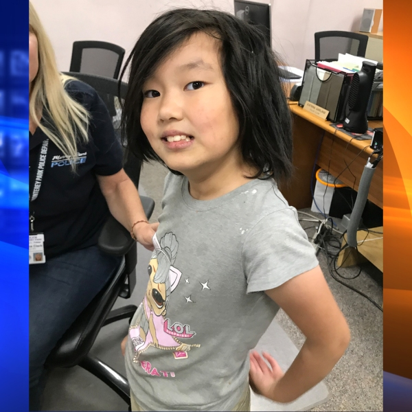 Monterey Park police released this photo of the girl.