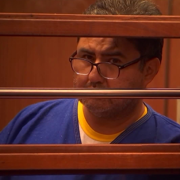 Naasón Joaquín García appears for his arraignment at the Clara Shortridge Foltz Criminal Justice Center in downtown Los Angeles on June 10, 2019. (Credit: KTLA)