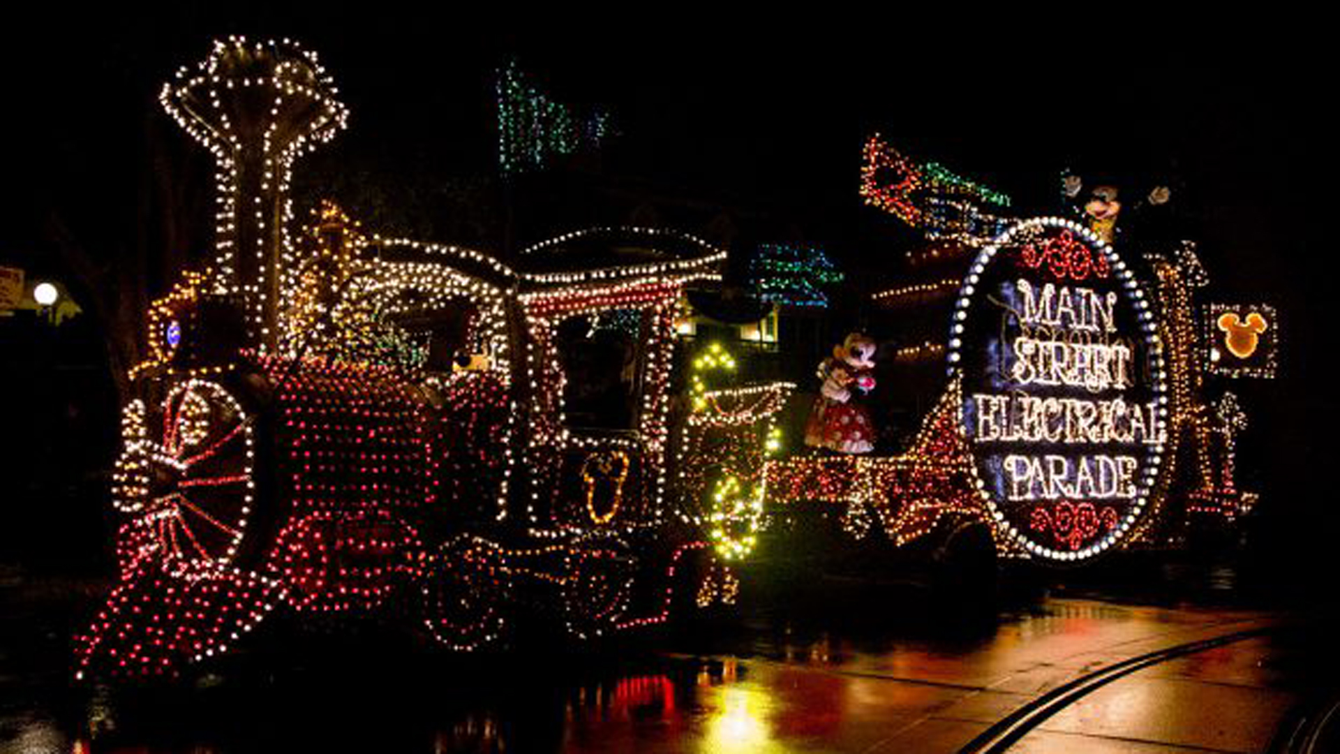 This file photo of a float from the Main Street Electrical Parade was released by Disney on June 28, 2019.