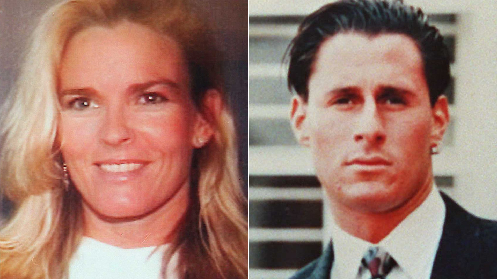 Nicole Brown Simpson and Ronald Goldman are seen in file photos. (Credit: Getty Images)