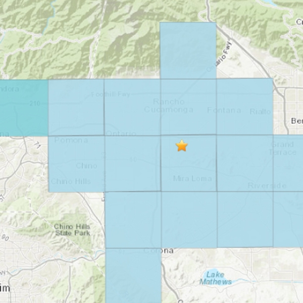 A series of small quakes continued to rattle the Inland Empire on June 3, 2019. (Credit: USGS)
