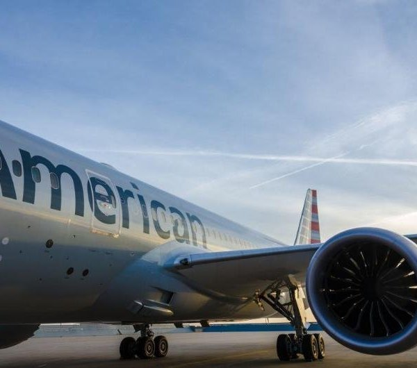 An American Airlines plane is seen in this file photo. (Credit: American Airlines)
