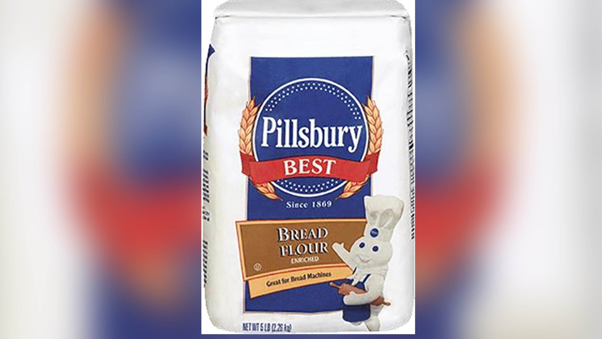 Pillsbury has recalled its 'Best Bread Flour' from stores because of possible E. coli contamination. (Credit: FDA)