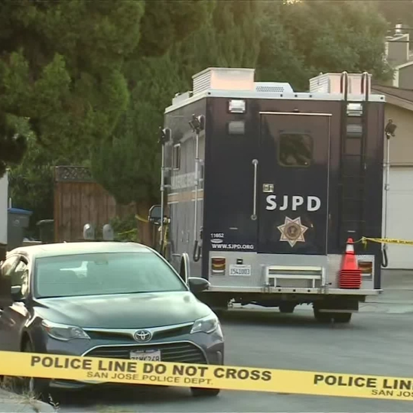 A man is suspected of killing four people before turning a gun on himself in San Jose. (Credit: KPIX)