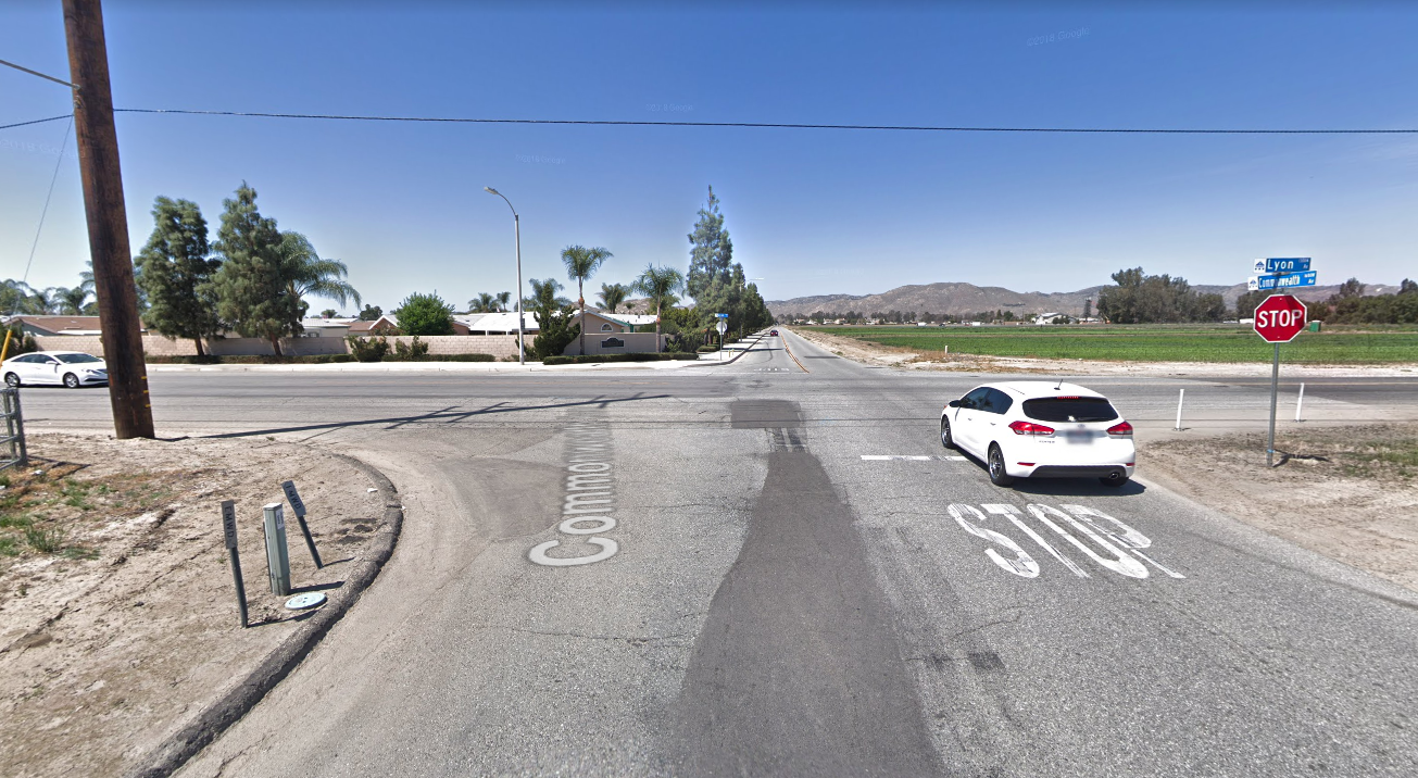 The intersection of Lyon and Commonwealth avenues is seen in a Google Maps Street View image on June 10, 2019.