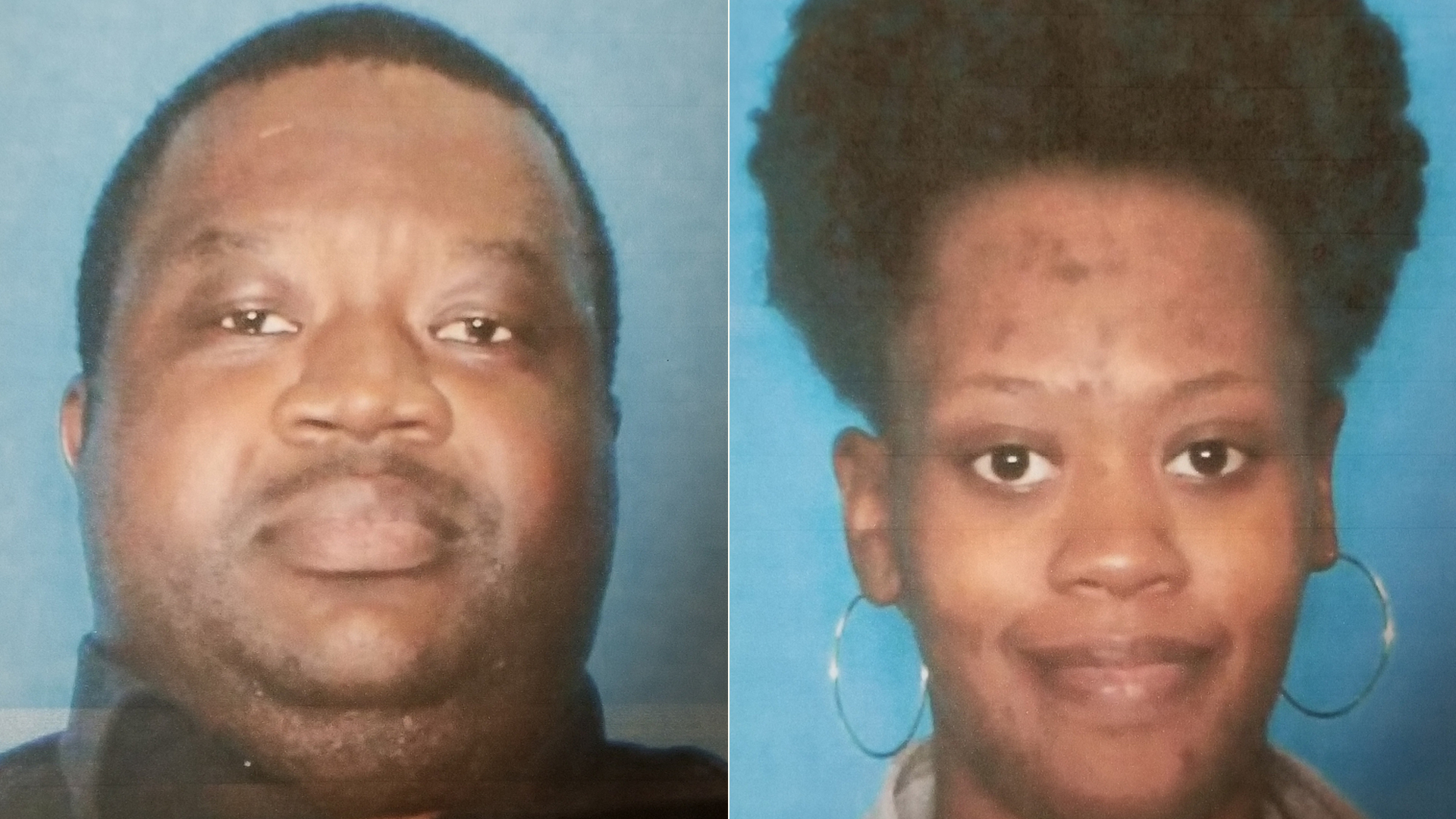 From left to right: Shadrick Jones, 33, and Iyehesa Todd, 26, are seen in photos released by the Saint Gabriel Police Department in Louisiana.