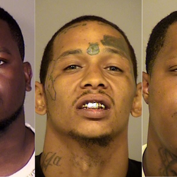 From left to right: Cirsten Joseph, Allan Sherman and Jovantay Bess are seen in photos released by the Ventura County Sheriff's Office on June 19, 2019.