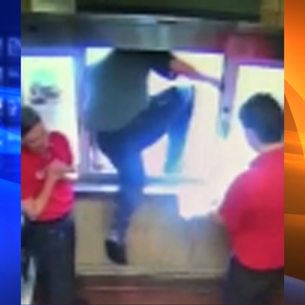 A Chick-fil-A surveillance video of the incident was released to WSB and distributed by CNN.