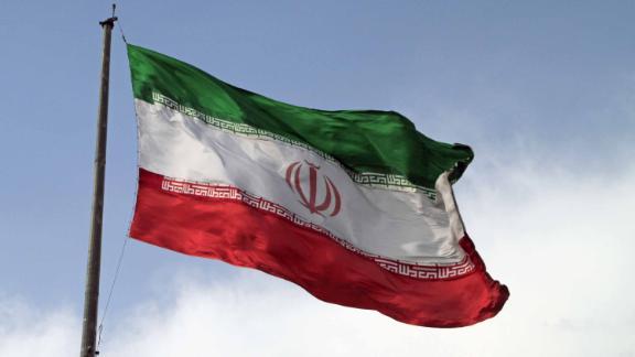 A file photo shows Iran's flag. (CNN)