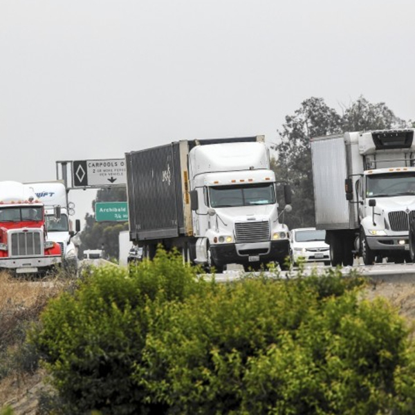 Mark your calendars. The 60 Freeway will be closed for 15 weekends.(Credit: Irfan Khan / Los Angeles Times)