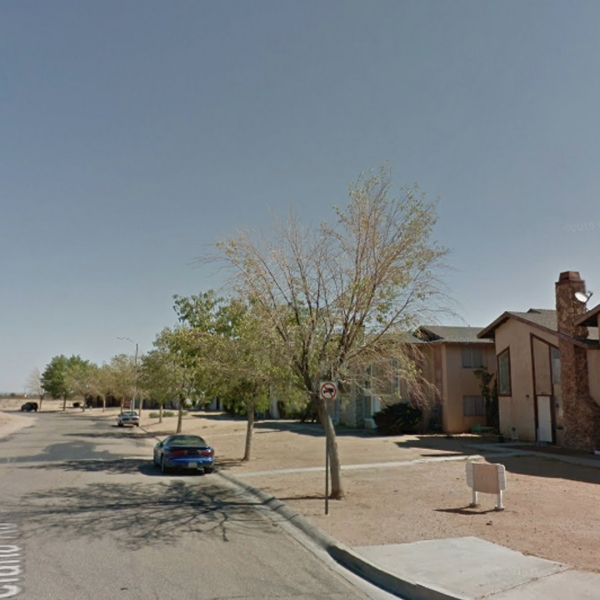The 18100 block of Poinciana Road in Adelanto is seen in a Google Maps Street View image from July 2012.