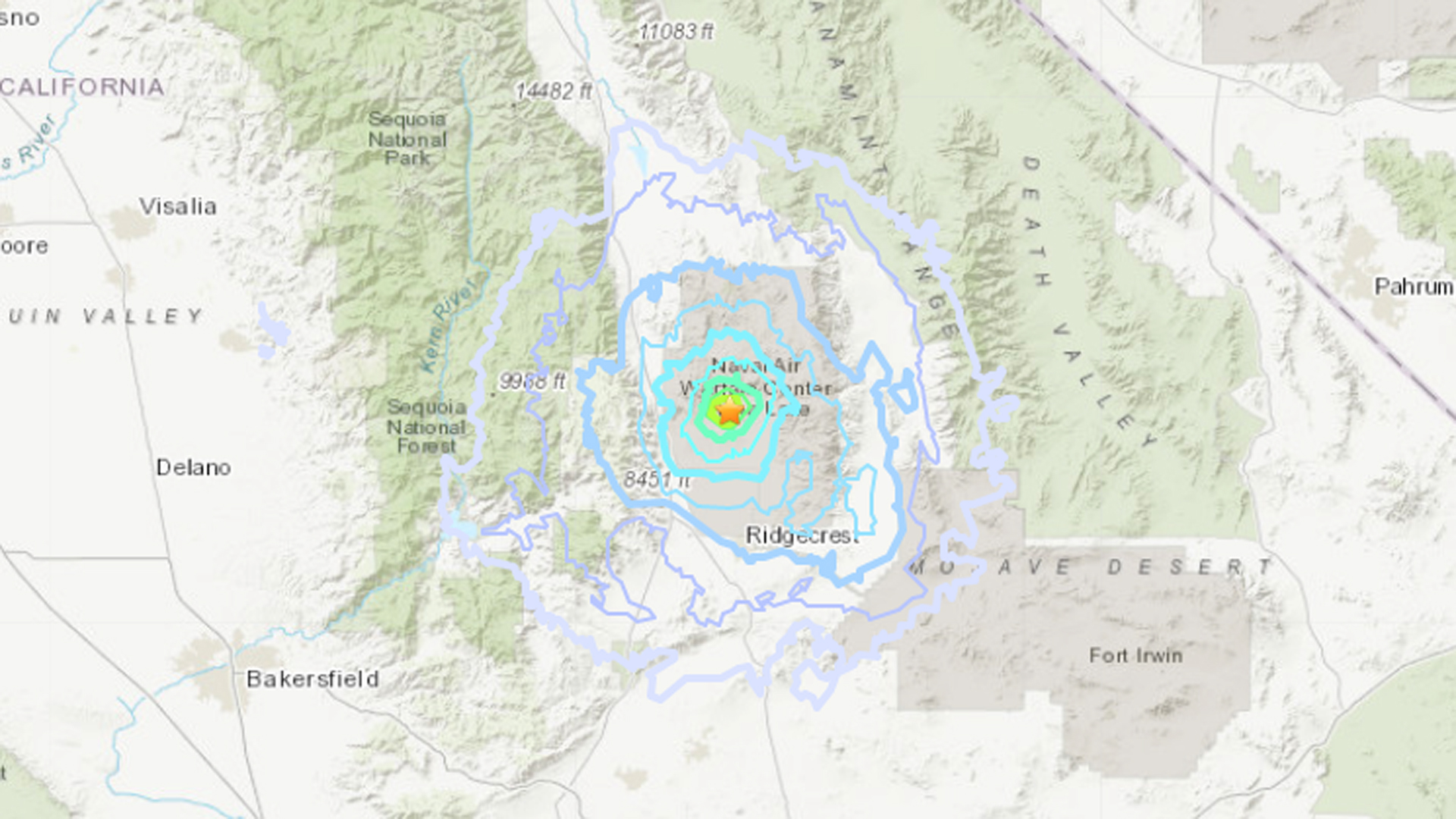 A magnitude 4.7 quake that shook the Ridgecrest region July 25, 2019, is among more than 80,000 temblors to hit the area since July 4.