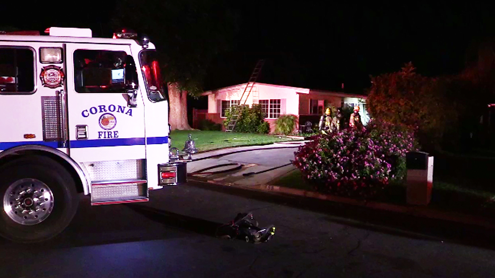 A man was found dead after a fire broke out at a home in the Corona area on July 25, 2019. (Credit: Casper News)