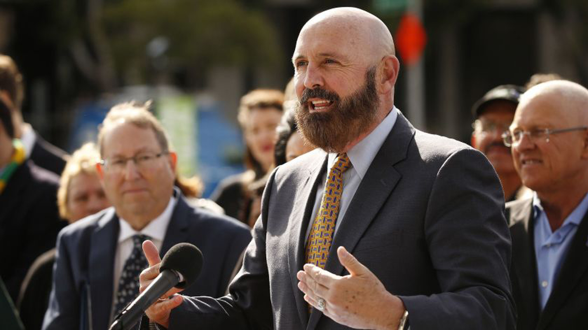 David H. Wright stepped down Tuesday as general manager of the Los Angeles Department of Water and Power, Los Angeles Mayor Eric Garcetti announced.(Credit: Al Seib / Los Angeles Times)