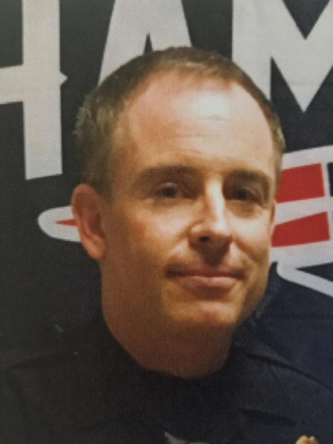 San Diego Police Sgt. Joseph Ruvido is seen in a photo released by the department after his arrest July 26, 2019. (Credit: KSWB)
