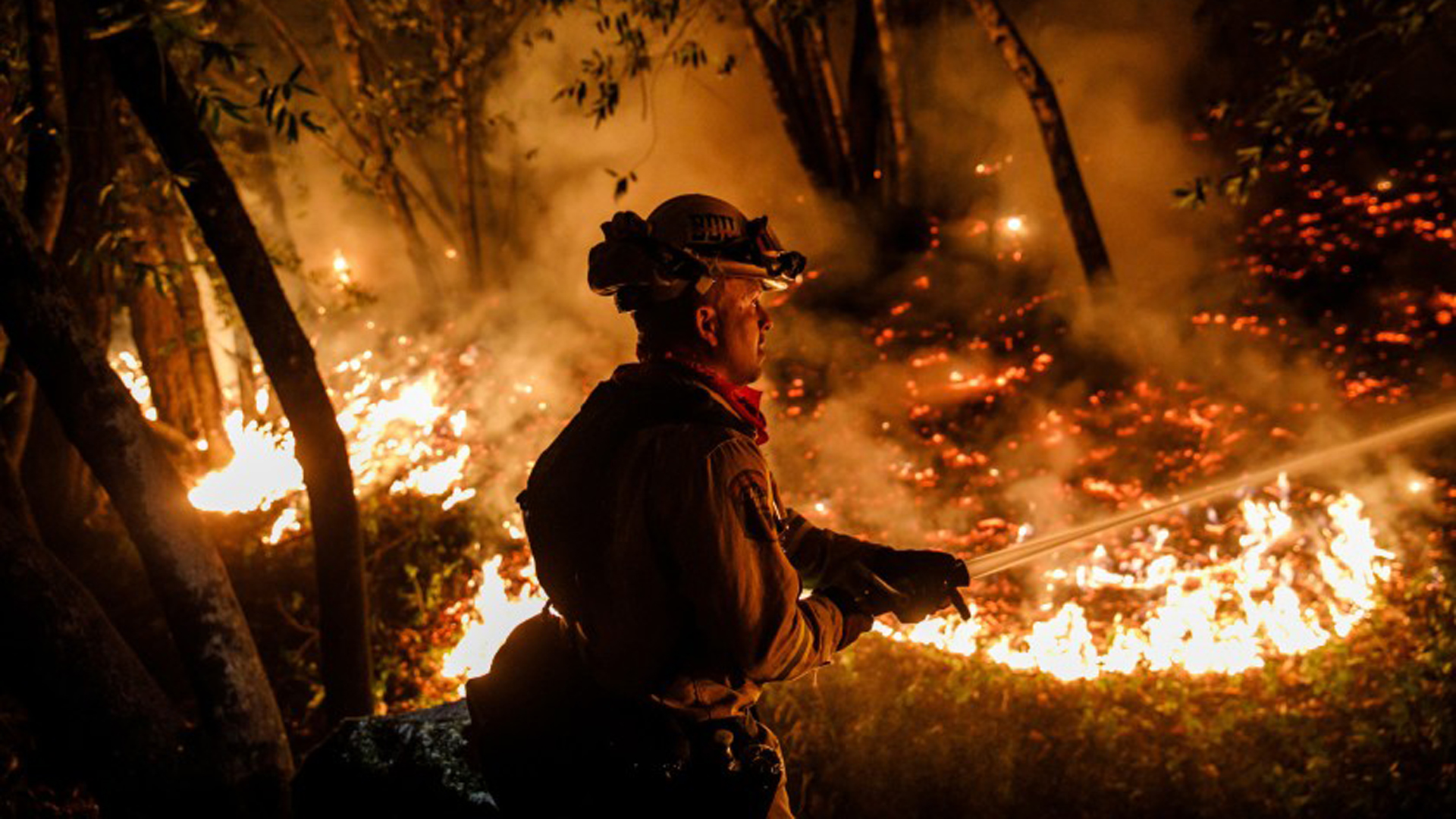 In the aftermath of the government shutdown, the Interior Department has struggled to hire seasonal firefighters.(Credit: Marcus Yam / Los Angeles Times)