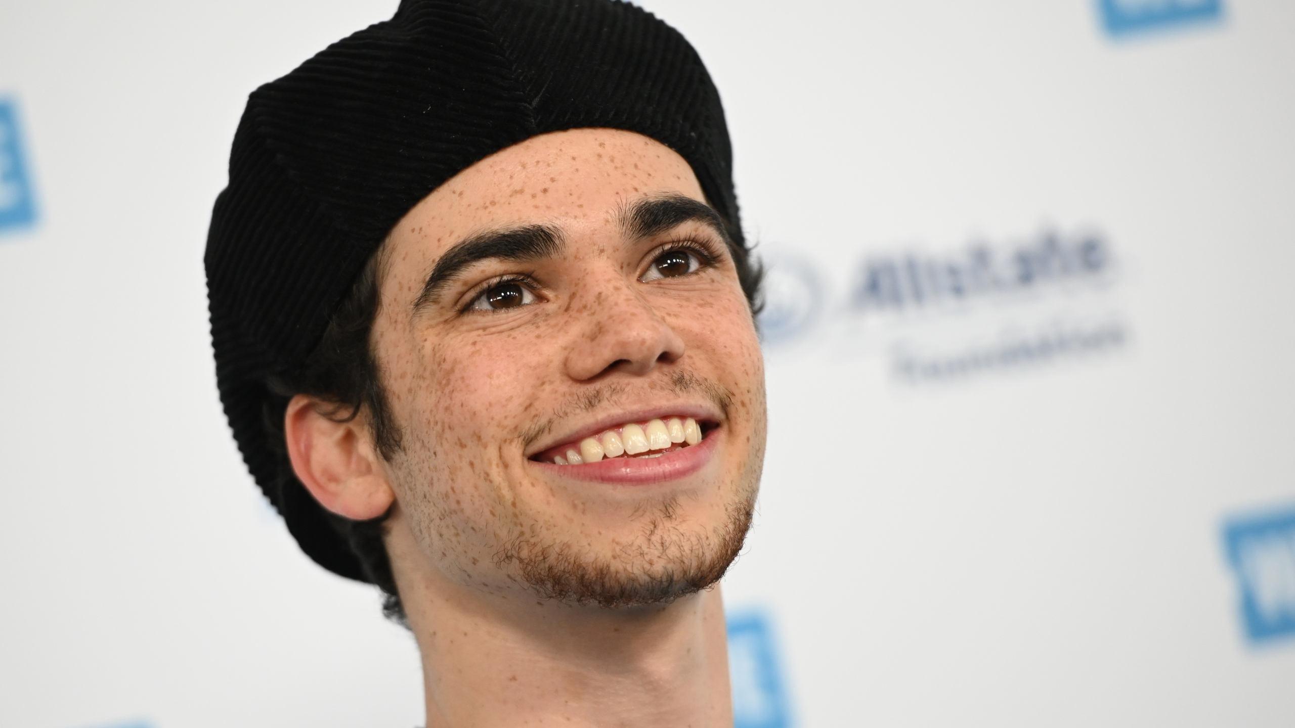 Actor Cameron Boyce arrives for WE Day California at the Forum in Inglewood on April 25, 2019. (Credit: ROBYN BECK/AFP/Getty Images)