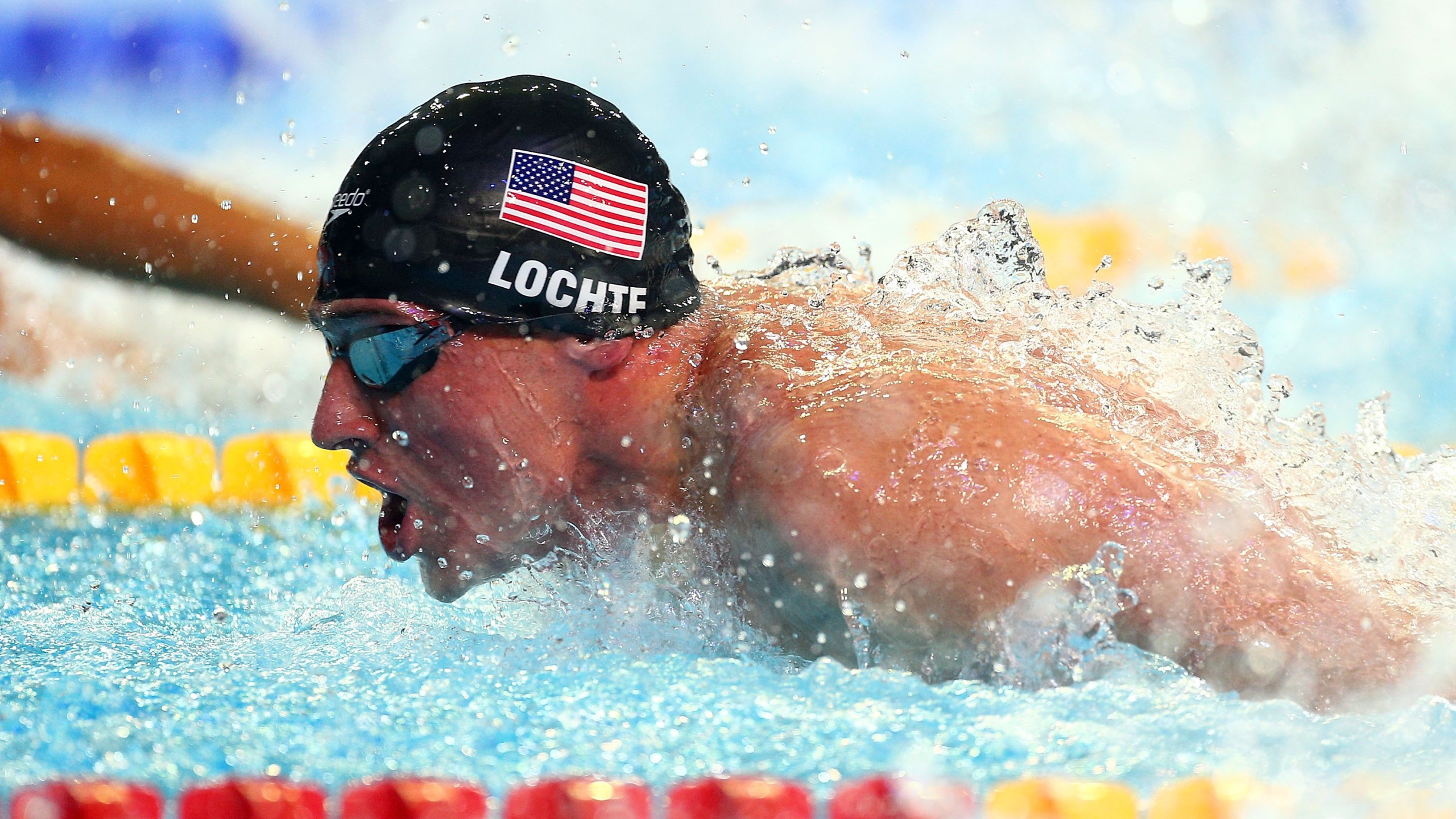 Ryan Lochte competes in the Men's 100m Butterfly semi finals during day one of the 11th FINA Short Course World Championships at the Sinan Erdem Dome on December 12, 2012 in Istanbul, Turkey. (Credit: Clive Rose/Getty Images)
