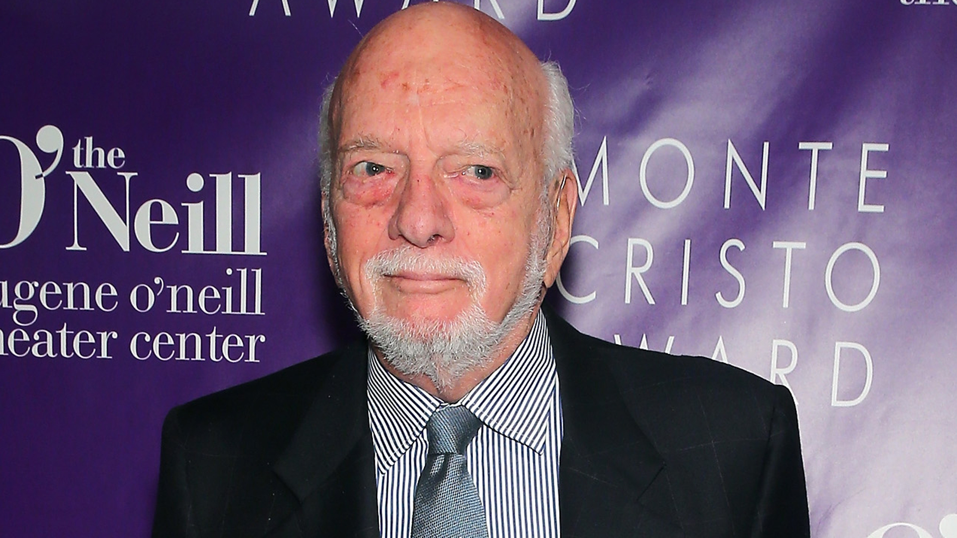 "Harold ""Hal"" Prince attends the 16th Annual Monte Cristo Award ceremony honoring George C. Wolfe presented by The Eugene O'Neill Theater Center at Edison Ballroom on May 9, 2016 in New York City. (Credit: Jemal Countess/Getty Images for Eugene O'Neill Theater )"