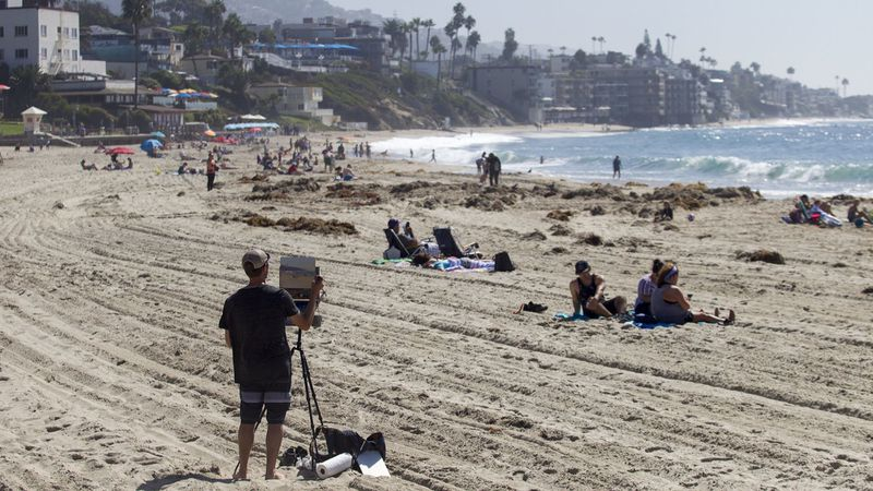 Laguna Beach is seen in an undated photo. (Los Angeles Times)