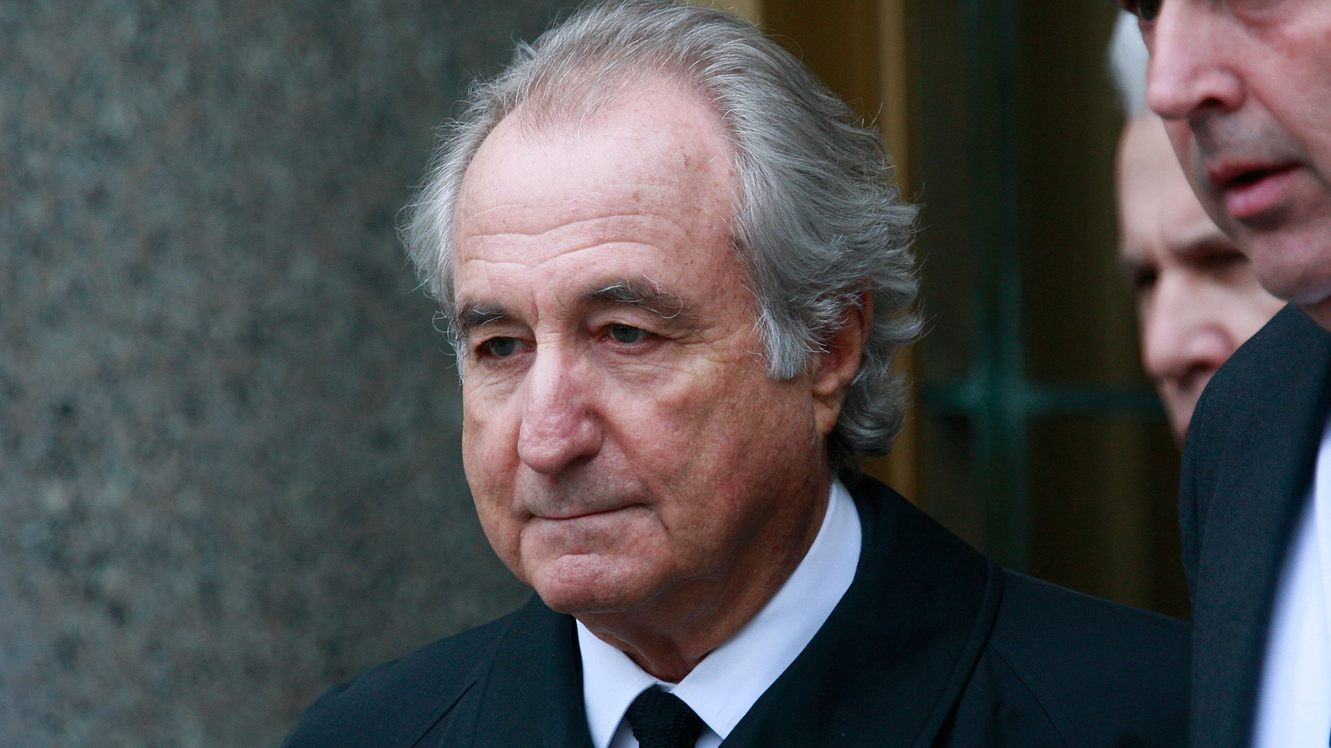 Bernard Madoff exits federal court March 10, 2009 in New York City. (Credit: Mario Tama/Getty Images)