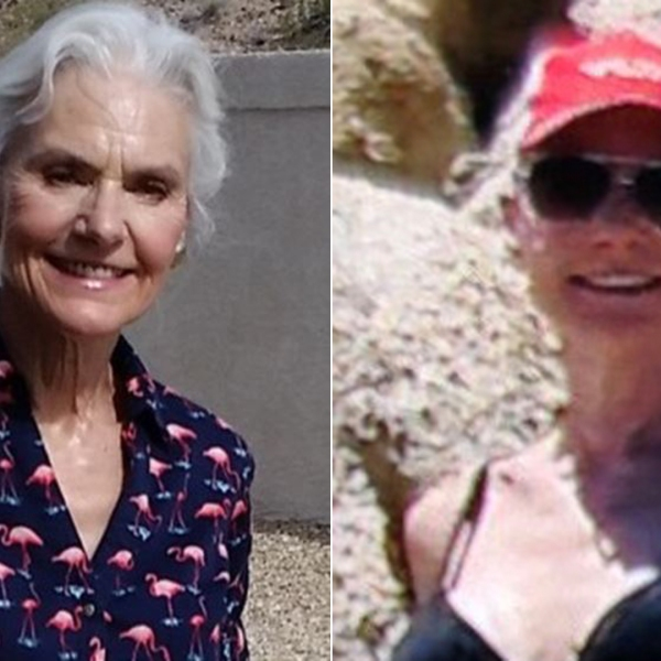 Barbara Thomas is shown in photos released by the San Bernardino County Sheriff's Department on July 14, 2019.