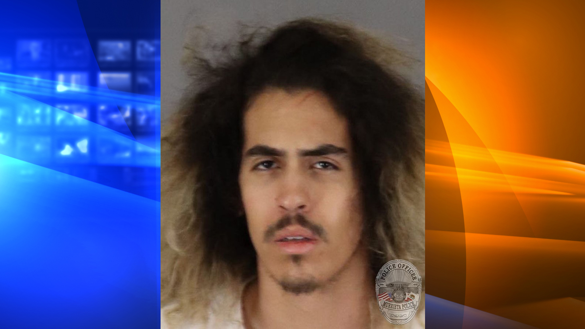 Jacob Aaron Lepe, 21, pictured in a photo released by the Murrieta Police Department following his arrest on July 9, 2019.