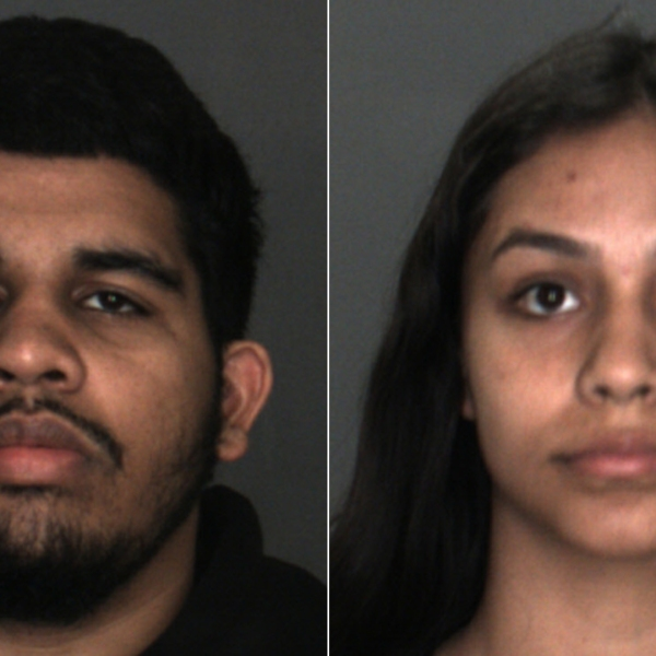 Ricardo Ramkissoon, left, and Zoe Ramirez are seen in booking photos released July 24, 2019, by the San Bernardino County Sheriff's Department.