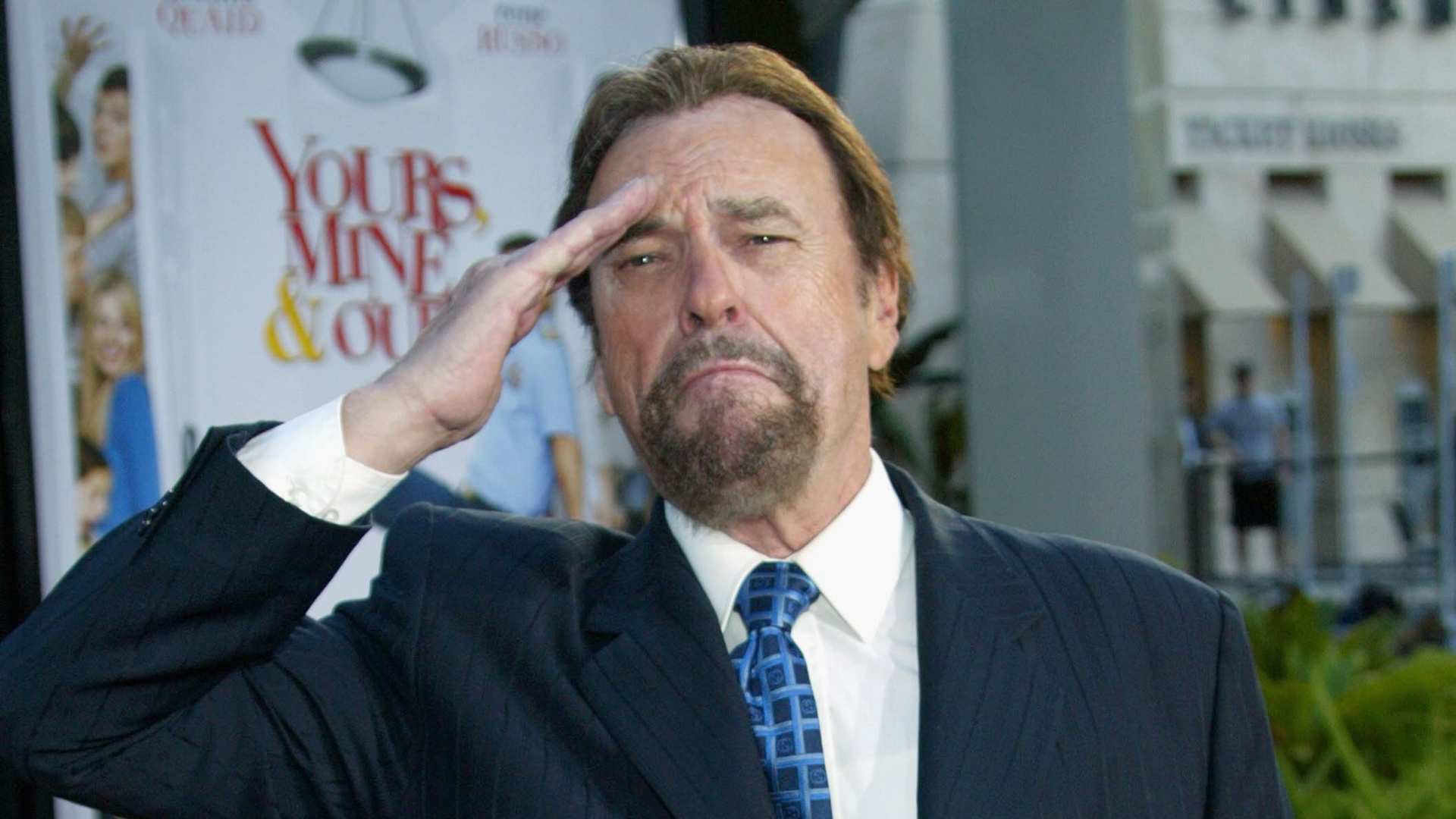 """Actor Rip Torn attends the premiere of """"Yours, Mine & Ours"""" at the Cinerama Dome in Hollywood on Nov. 20, 2005. (Credit: Frederick M. Brown / Getty Images)"""