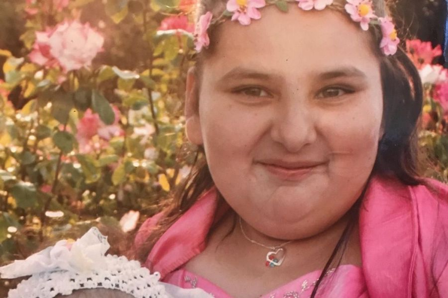Keyla Salazar is seen in an undated photo posted to a GoFundMe page.